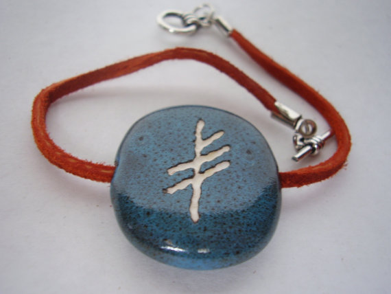 Viking Rune Symbol of LUCK bracelet