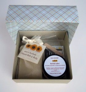 'Ditch the Itch Soap and Salve Gift Box' from Ann's Herbals