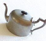 Vintage Pewter Teapot by Olives and Doves
