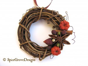 Spiced Fall Mini Wreath