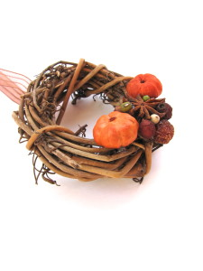fall wreath, holiday decorations, spicegrovedesigns
