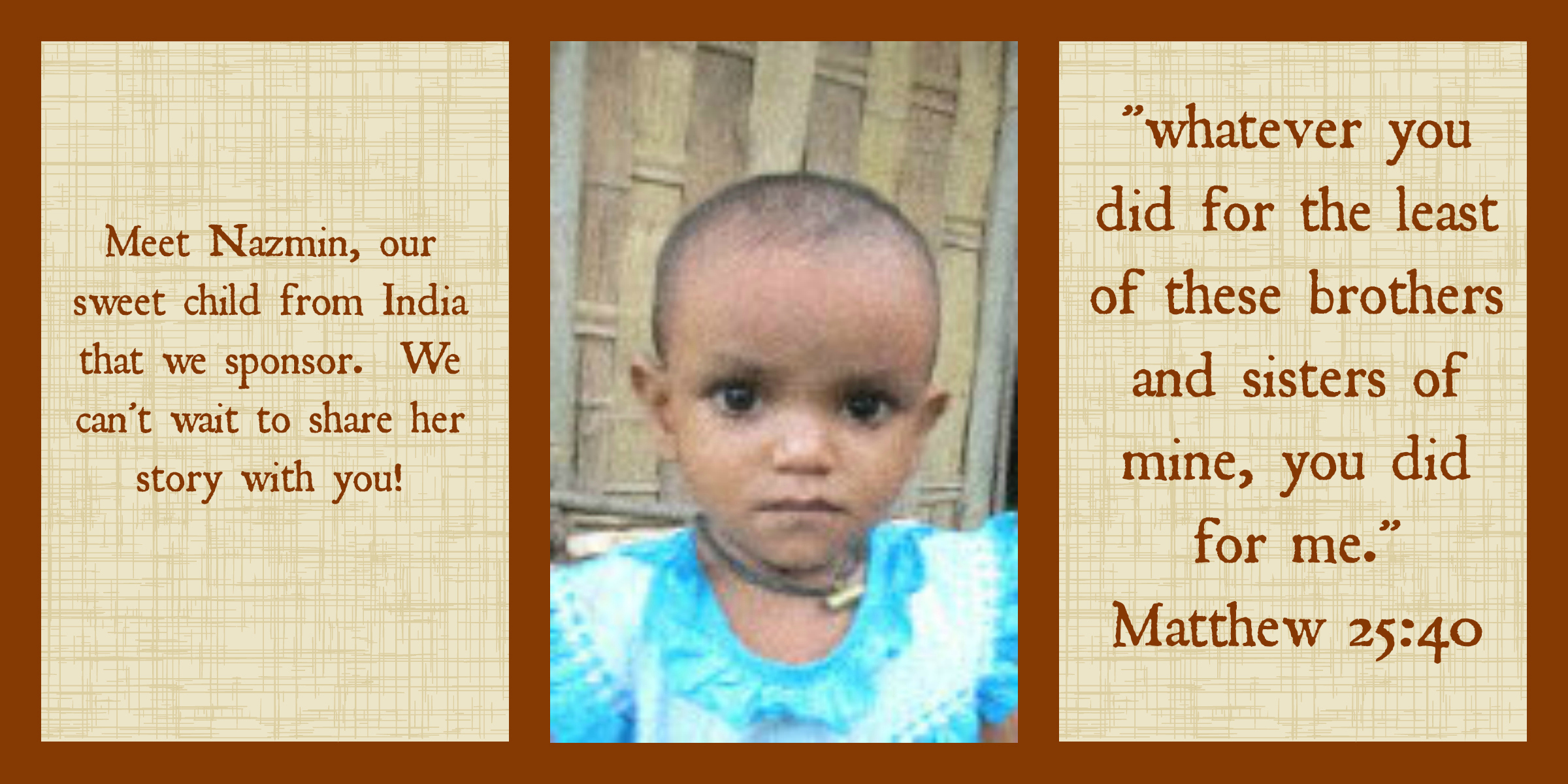 world vision, charity, sponsor a child