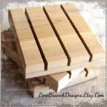 Cedar Natural Soap Dish by Pine Branch Designs