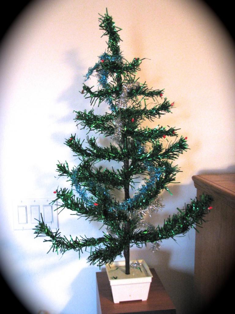 Our Charlie Brown Christmas Tree