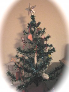 The Decorated 'Charlie Brown' Tree