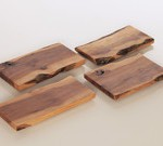 Salvaged Apple Wood Serving Platter by Storyboard Furniture