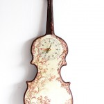 Violin Wall Clock by Beau Miracle