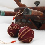 Rustic Ornaments by Cranberry dreams