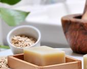 Ann's Organic Oatmeal Shea Butter Soap