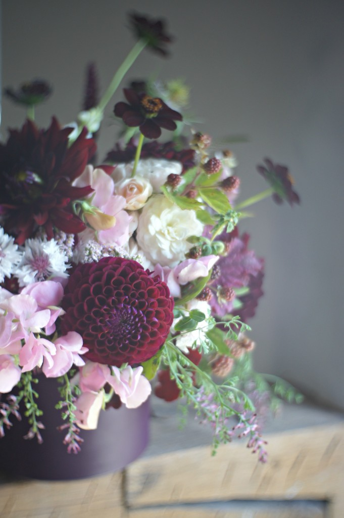 Blackberry bouquet