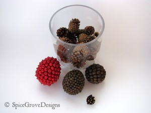 Pinecones and Spice Balls